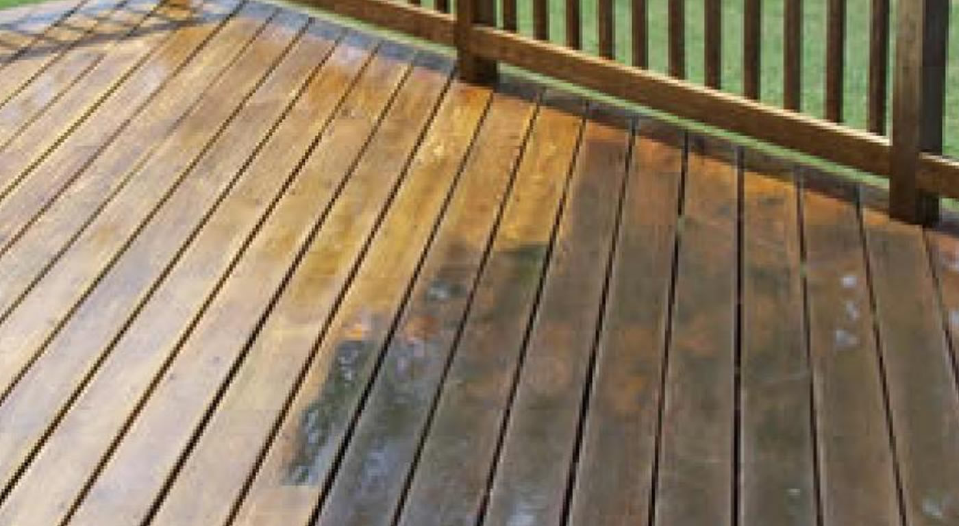 Specialist Decking CLEANING
